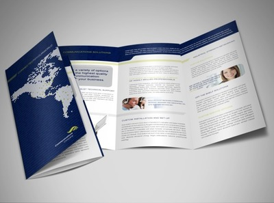 global-international-communications-brochure-template