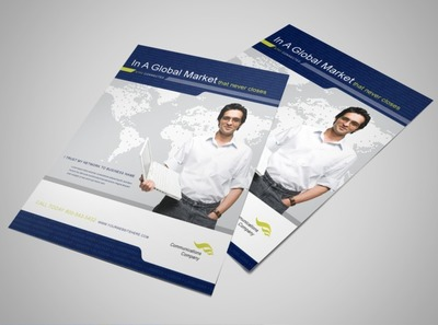 international-communications-flyer-template