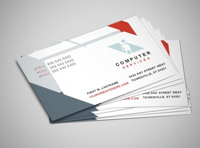 it-solutions-business-card-template