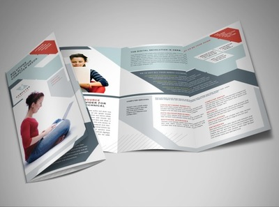 it-solutions-brochure-template