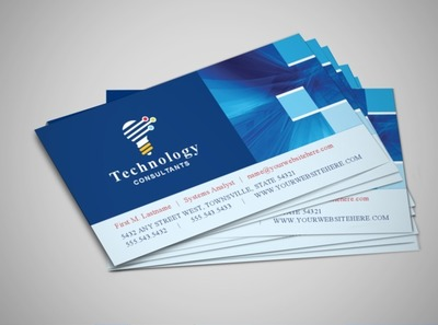 technology-consultant-business-card-template