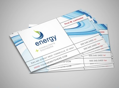 green-energy-business-card-template