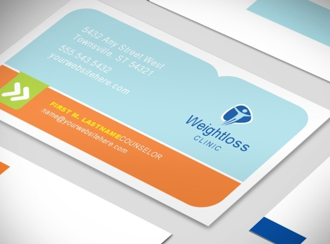 weight loss business card template 2 Top Result 60 Fresh Business Card Weight