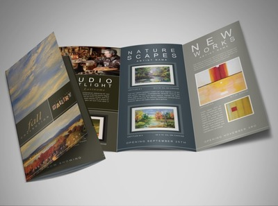 art-gallery-tri-fold-brochure