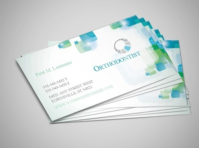 orthodontist-business-card