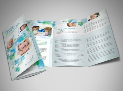 orthodontist-tri-fold-brochure