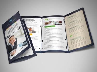 secretarial-services-tri-fold-brochure