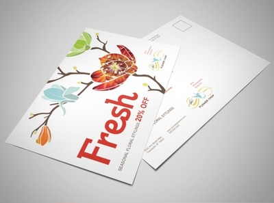 floral-business-postcard