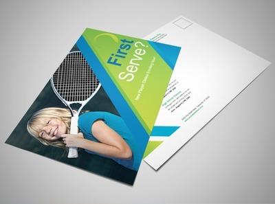tennis-lessons-postcard