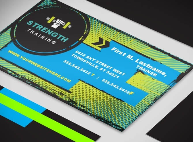 weight lifting business card template 2 Top Result 60 Fresh Business Card Weight