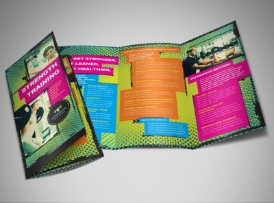 weight-lifting-tri-fold-brochure