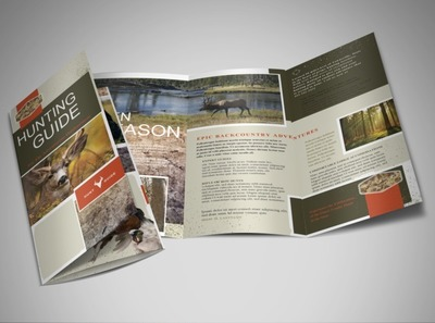 hunting-fishing-tri-fold-brochure