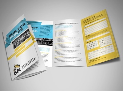 charity-run-tri-fold-brochure