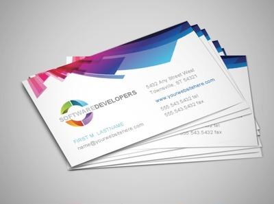 software-development-business-card
