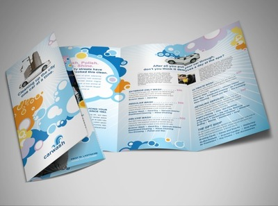 vehicle-cleaning-and-care-brochure-template