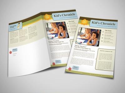 early-childhood-development-education-newsletter-template