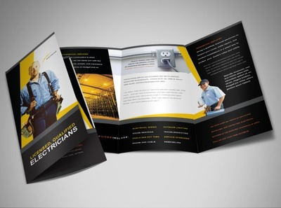 electrical-services-contractor-brochure-template