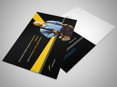 electrical-services-contractor-postcard-template