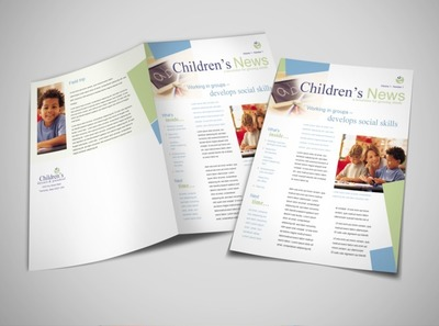 child-day-care-services-newsletter-template