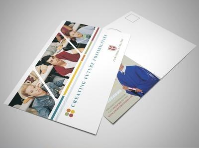 college-university-education-facilities-postcard-template