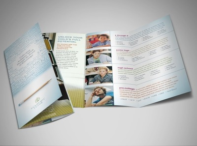 education-teaching-services-brochure-template