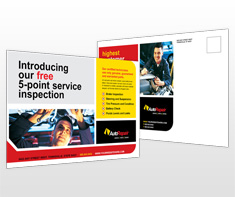 automotive-service-and-repair-postcard-template