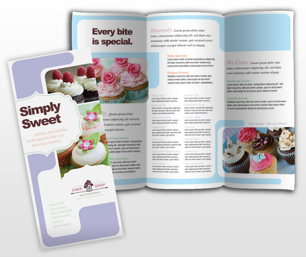 bakery brochure template - blog archives blogscalendar