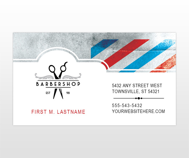 Barber shop business card templates 28 images for Barbershop business cards templates
