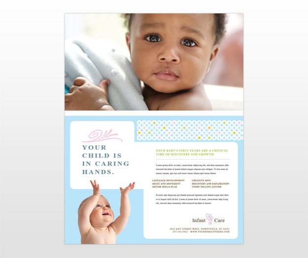 Babysitting Flyer Template | Out-Of-Darkness
