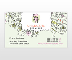 childcare-and-babysitting-business-card-template