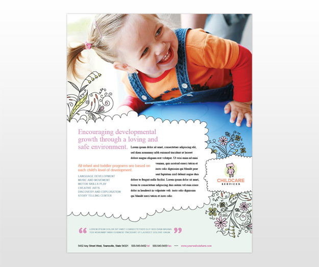 childcare-and-babysitting-flyer-template