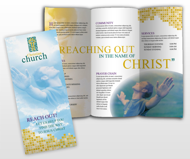 church brochure templates - document moved