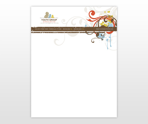 11 church letterhead templates free sample example format download business letterhead spiritdancerdesigns Choice Image