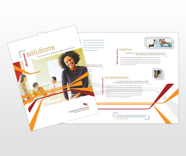 software product brochure template - google images