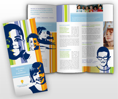 Document moved for Elementary school brochure template