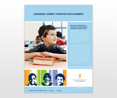 elementary-education-facilities-flyer-template