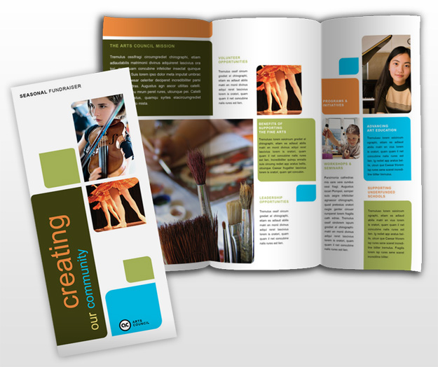Educational brochure templates the for Education brochure template