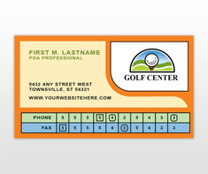 golf-lessons-business-card-template