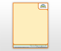 golf-lessons-letterhead-template