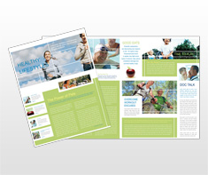 healthcare-administration-and-management-newsletter-template