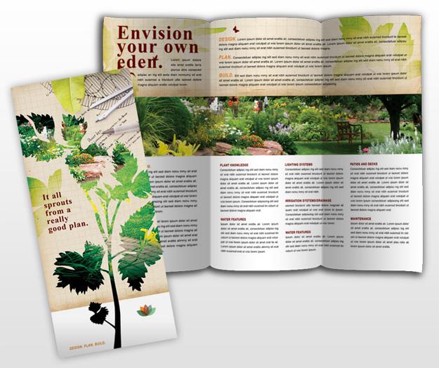 landscape brochure template - document moved