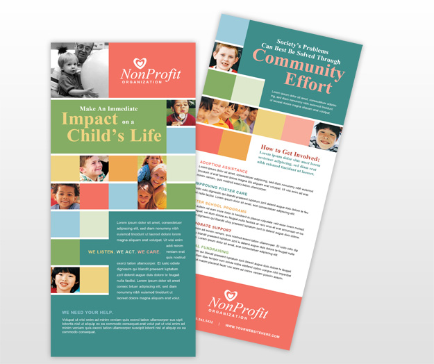 Rack Cards Template Beautiful Scenery Photography