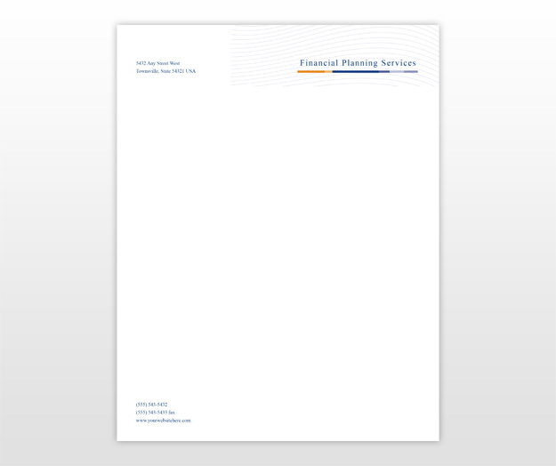 sample personal letterhead template