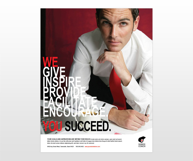 health coach brochure templates - business executive coach lifecoach flyer templates