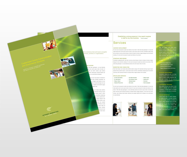search-engine-marketing-brochure-template