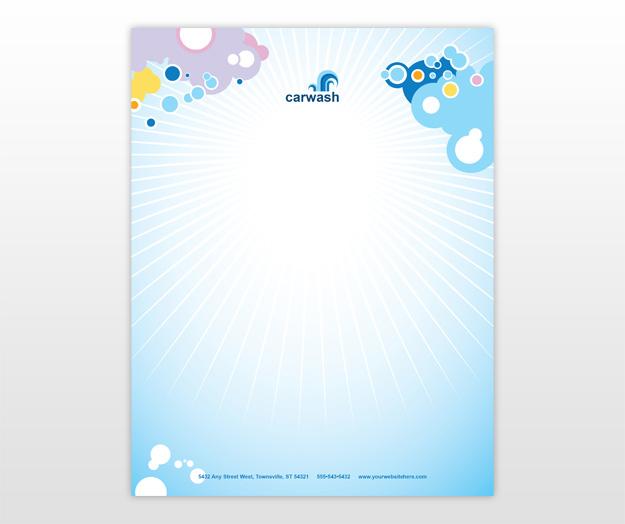 Clean Corporate Letterhead Template: Letterhead Design Ideas