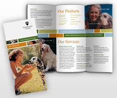 veterinary-service-brochure-template