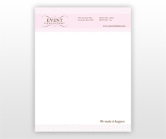 wedding-planner-letterhead-template