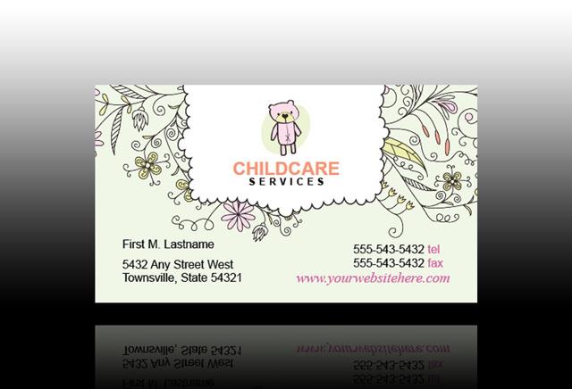 ... babysitting business cards&type=images ... Printable Babysitting