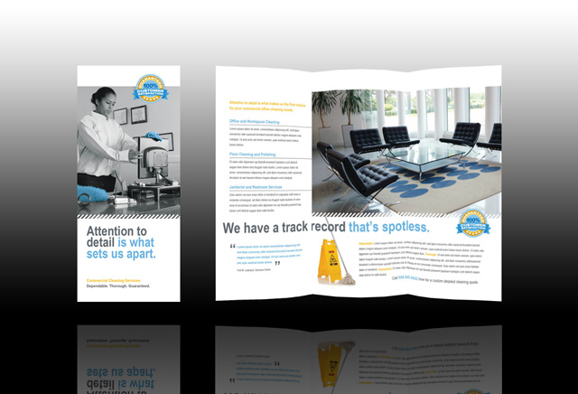 Commercial Cleaning Brochure Templates Related Keywords ...